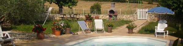 piscine Gîte Cévennes en location