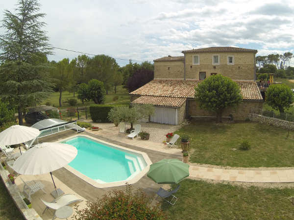 piscine Gîte Cévennes
