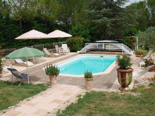 piscine Gîte en Occitanie en location